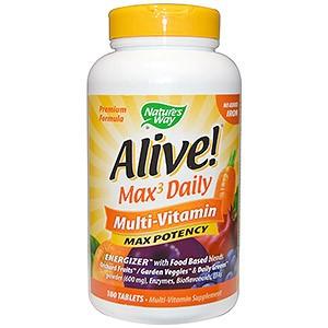мультивитамины, без добавления железа