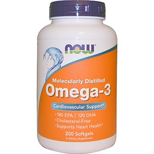 Now Foods, Omega-3, Cardiovascular Support