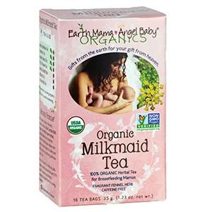 Earth Mama Angel Baby, Органический чай с луговым сердечником и фенхелем