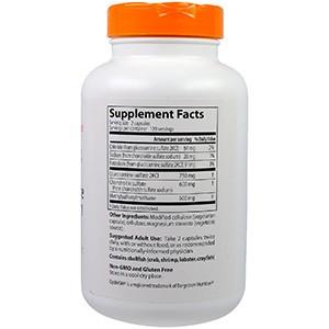 Doctor's Best, Глюкозамин, хондроитин и МСМ, 240 капсул