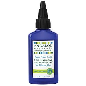 Andalou Naturals, Стволовые клетки аргании, интенсивный уход за кожей головы и редеющими волосами, антивозрастной, (62 мл)