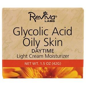 Дневной увлажняющий крем для жирной кожи с гликолевой кислотой