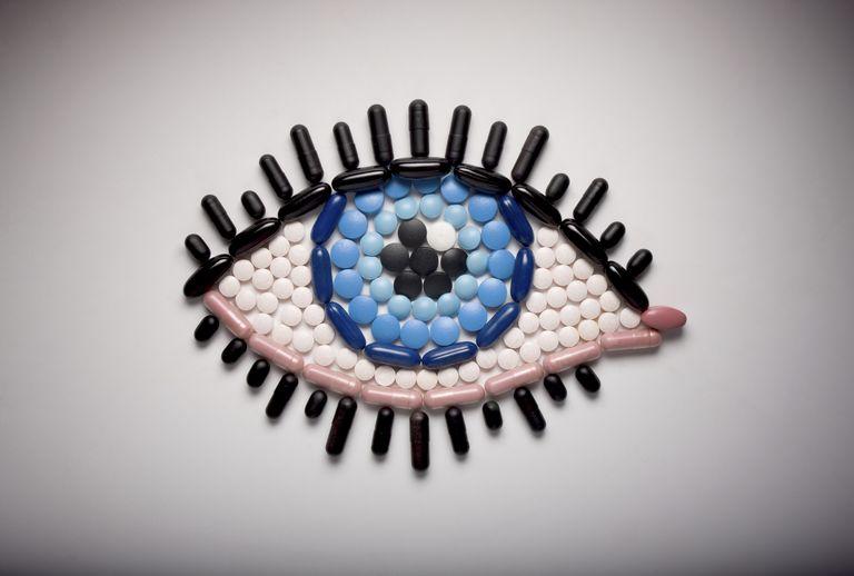 глаз из капсул
