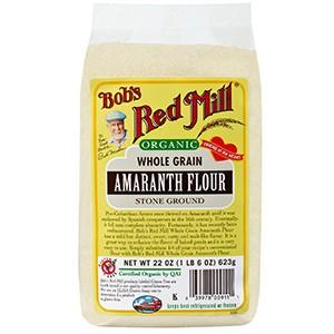 Bob's Red Mill, Органическая мука из цельного амаранта, 623 г