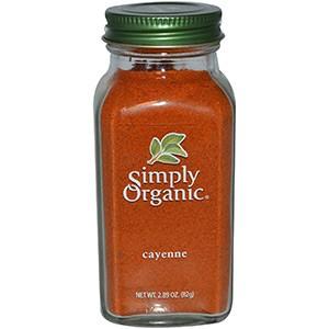 Simply Organic, Кайенский перец, (82 г)