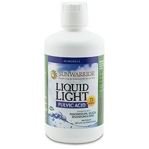 Sunwarrior, Liquid Light, фульвовая кислота, 946,4 мл