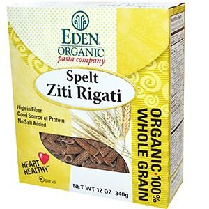 Eden Foods, Органическая спельта Ziti Rigati, 340 г