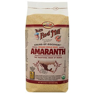 Bob's Red Mill, Органические цельные зерна амаранта,680 г