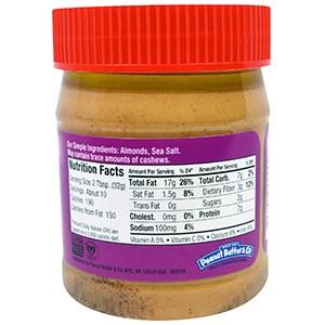 Peanut Butter & Co., миндальная паста, 312 г.