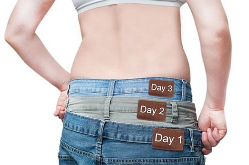 похудение день за днем