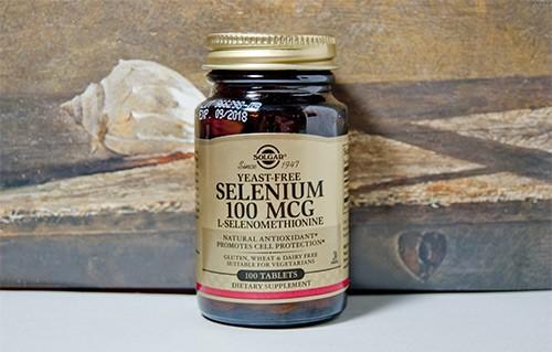 солгар селениум
