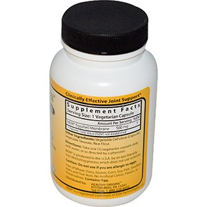 Healthy Origins, Мембрана яичной скорлупы, 500 мг, 120 капсул