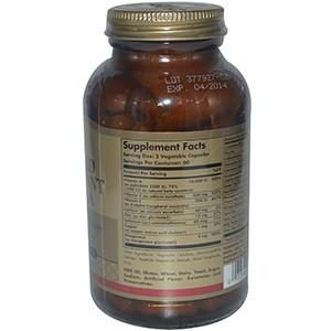 Solgar, Улучшенная Антиоксидантная Формула, 120 Капсул