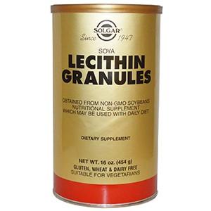 Solgar, Лецитин в гранулах, 454 г