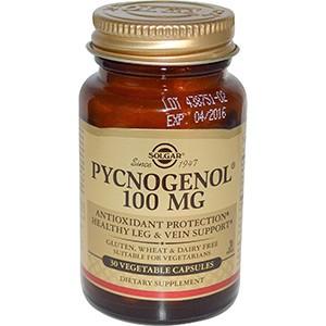 Solgar, Pycnogenol, 100mg, 30 капсул