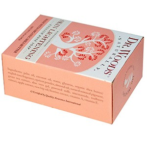 Dr. Woods, Английское мыло с ароматом розы, эффект осветления кожи, 149 г