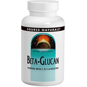 Source Naturals, Бета-глюкан (Beta Glucan), 250 мг, 60 таблеток