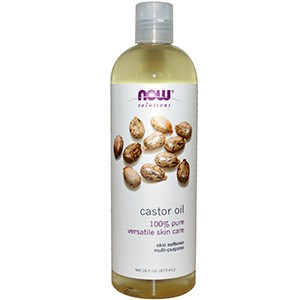 Now Foods, Now Foods, Solutions, касторовое масло (Castor Oil), 473 мл