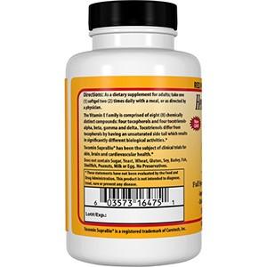 Healthy Origins, Tocomin SupraBio, Токотриенол красного пальмового масла полного спектра действия, 50 мг, 60 гелевых капсул
