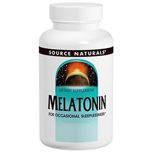 Source Naturals, Мелатонин, 5 мг, 120 таблеток