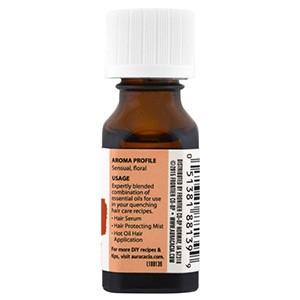 Aura Cacia, Уход за волосами, смесь важнейших эфирных масел, питание, 15 мл