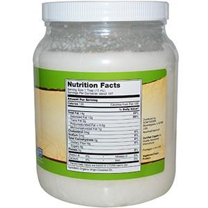 Now Foods, Органическое кокосовое масло первого отжима, 1,6 л