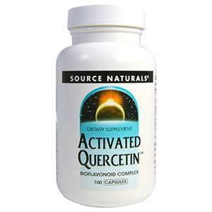 Source Naturals, Активированный кверцетин, 100 капсул