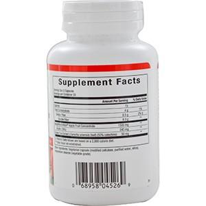 Natural Factors, ApplePectinRich, супер сильный концентрат яблочного пектина, 90 капсул