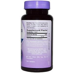 Natrol, Мелатонин быстрорастворимый со вкусом клубники, 10 мг, 60 таблеток