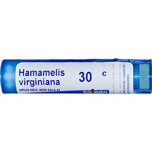 Boiron, Single Remedies, Гамамелис вирджинский, гомеопатическое лекарственное средство от геморроя 30 С