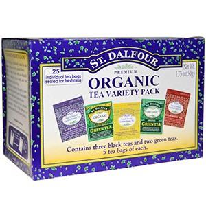 St. Dalfour, Органический чай с разными вкусами