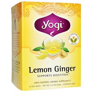 Yogi Tea, Чай с лимоном и имбирем без кофеина