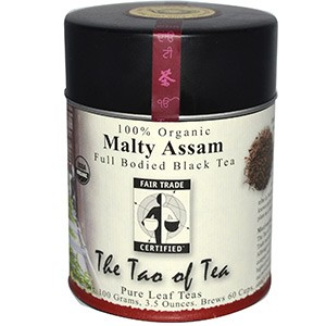 The Tao of Tea, 100% Органический Насыщенный Черный Чай Солодовый Ассам, 100 г