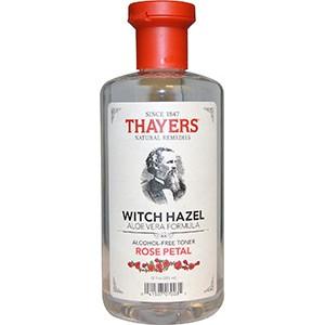 Thayers, Формула с гамамелисом и алоэ вера, тоник без спирта