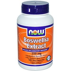 Now Foods, Экстракт босвеллии, 250 мг, 120 растительных капсул