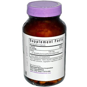 Bluebonnet Nutrition, ДМАЕ (диметиламиноэтанол)