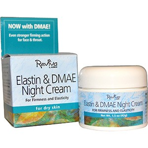 Reviva Labs, Ночной крем с эластином и ДМАЭ, для сухой кожи