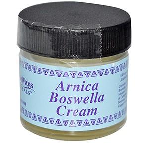 WiseWays Herbals, LLC, Крем с арникой и босвеллией