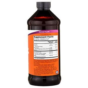 Now Foods, Жидкий Глюкозамин и Хондроитин с Метилсульфонилметаном