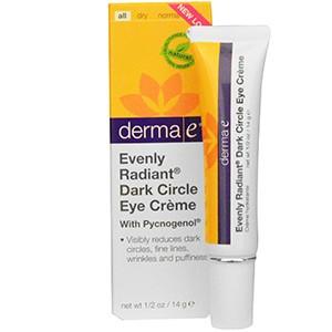 Derma E, Крем с пикногенолом и гамамелисом от темных кругов под глазами для сияющего и лучистого взгляда