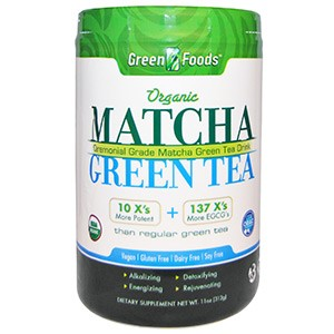 Green Foods Corporation, Organic, Matcha Green Tea