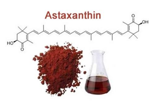 формула астаксантина
