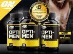 Полное описание и разбор состава витаминного комплекса Opti Men от компанииOptimum Nutrition