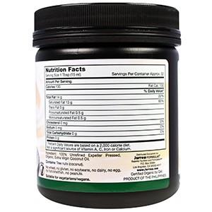 Jarrow Formulas, Органическое кокосовое масло Extra Virgin