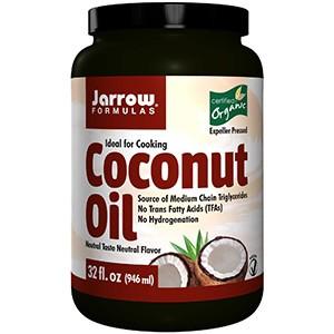 Jarrow Formulas, Сертифицированное, рафинированное натуральное кокосовое масло, выжато шнековым прессом