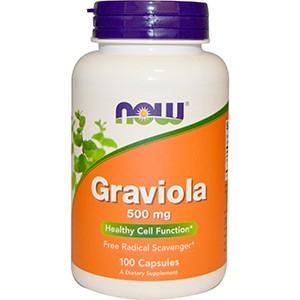 Now Foods, Гравиола, 500 мг