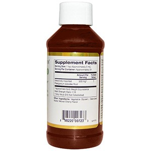 California Gold Nutrition, CGN, Умкалоабо, без алкоголя, со вкусом вишни