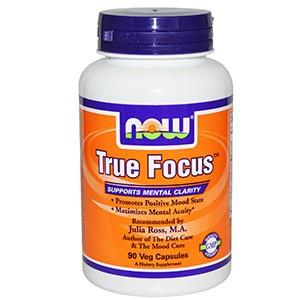 Now Foods, True Focus