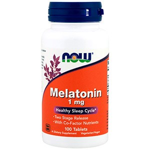 Now Foods, Мелатонин, 1 мг
