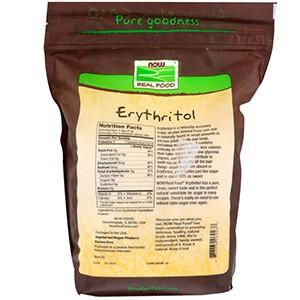 Now Foods, Эритритол, натуральный подсластитель